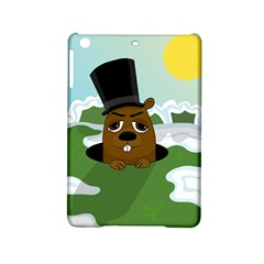 Groundhog Ipad Mini 2 Hardshell Cases by Valentinaart