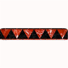 Triangle2 Black Marble & Red Marble Small Bar Mat