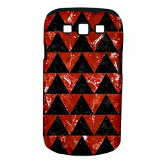 Triangle2 Black Marble & Red Marble Samsung Galaxy S Iii Classic Hardshell Case (pc+silicone) by trendistuff
