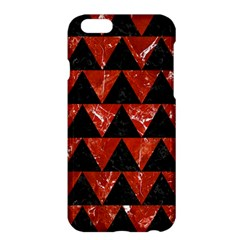 Triangle2 Black Marble & Red Marble Apple Iphone 6 Plus/6s Plus Hardshell Case by trendistuff
