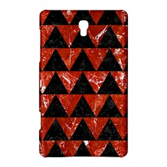Triangle2 Black Marble & Red Marble Samsung Galaxy Tab S (8 4 ) Hardshell Case