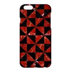 Triangle1 Black Marble & Red Marble Apple Iphone 6 Plus/6s Plus Hardshell Case