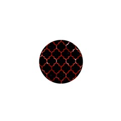 Tile1 Black Marble & Red Marble 1  Mini Magnet by trendistuff
