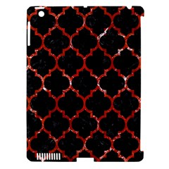 Tile1 Black Marble & Red Marble Apple Ipad 3/4 Hardshell Case (compatible With Smart Cover) by trendistuff