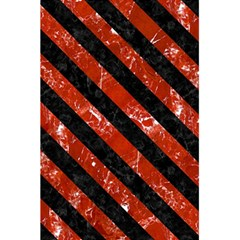 Stripes3 Black Marble & Red Marble (r) 5 5  X 8 5  Notebook by trendistuff