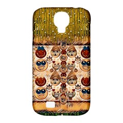 Festive Cartoons In Star Fall Samsung Galaxy S4 Classic Hardshell Case (pc+silicone) by pepitasart
