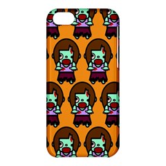 Zombie Woman Fill Orange Apple Iphone 5c Hardshell Case by Jojostore
