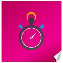 Alarm Clock Houre Canvas 20  X 20   by Jojostore