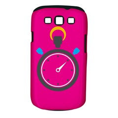 Alarm Clock Houre Samsung Galaxy S Iii Classic Hardshell Case (pc+silicone) by Jojostore