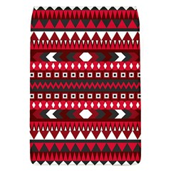 Asterey Red Pattern Flap Covers (l)  by Jojostore