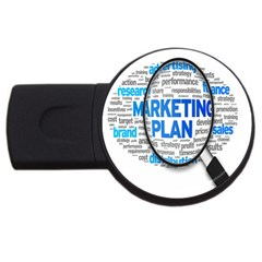 Article Market Plan Usb Flash Drive Round (4 Gb)