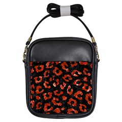 Skin5 Black Marble & Red Marble (r) Girls Sling Bag by trendistuff