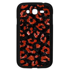 Skin5 Black Marble & Red Marble (r) Samsung Galaxy Grand Duos I9082 Case (black) by trendistuff