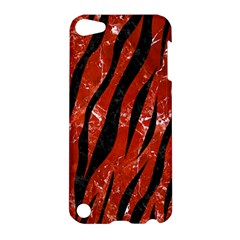 Skin3 Black Marble & Red Marble (r) Apple Ipod Touch 5 Hardshell Case