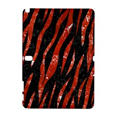 Skin3 Black Marble & Red Marble Samsung Galaxy Note 10 1 (p600) Hardshell Case by trendistuff