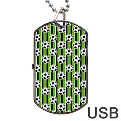 Ball Line Dog Tag Usb Flash (one Side)