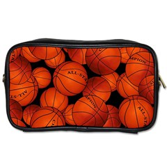 Basketball Sport Ball Champion All Star Toiletries Bags 2 Side by Jojostore