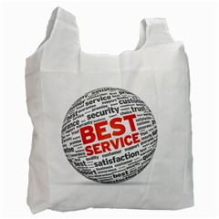 Best Service Recycle Bag (two Side)  by Jojostore