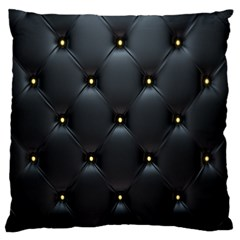 Black Skin Large Cushion Case (two Sides) by Jojostore