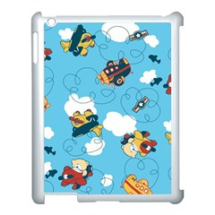 Bear Aircraft Apple Ipad 3/4 Case (white)