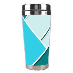 Logo Concept Banner Header Idea Stainless Steel Travel Tumblers