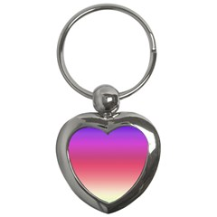 Blue Pink Purple Red Key Chains (heart)  by Jojostore