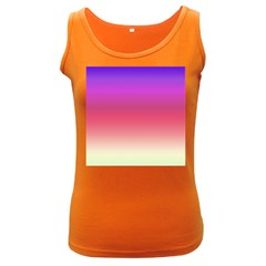 Blue Pink Purple Red Women s Dark Tank Top by Jojostore