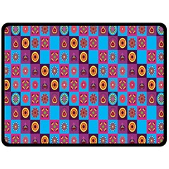 Batik Fleece Blanket (large)  by Jojostore