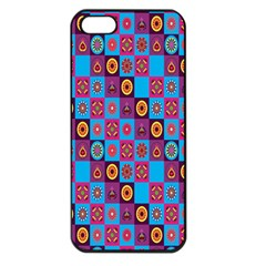 Batik Apple Iphone 5 Seamless Case (black) by Jojostore