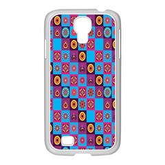 Batik Samsung Galaxy S4 I9500/ I9505 Case (white) by Jojostore