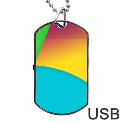 Bok Dog Tag Usb Flash (one Side) by Jojostore
