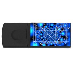 Network Connection Structure Knot Usb Flash Drive Rectangular (4 Gb)