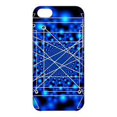 Network Connection Structure Knot Apple Iphone 5c Hardshell Case