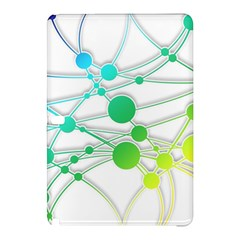 Network Connection Structure Knot Samsung Galaxy Tab Pro 10 1 Hardshell Case by Amaryn4rt