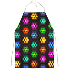 Pattern Background Colorful Design Full Print Aprons by Amaryn4rt