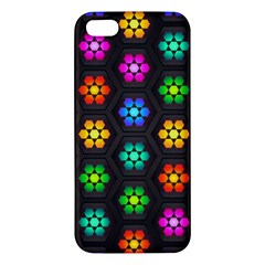 Pattern Background Colorful Design Iphone 5s/ Se Premium Hardshell Case by Amaryn4rt
