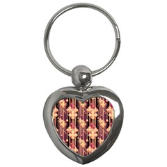 Seamless Pattern Key Chains (heart)  by Amaryn4rt