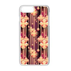 Seamless Pattern Apple Iphone 7 Plus White Seamless Case