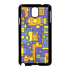 Square Background Background Texture Samsung Galaxy Note 3 Neo Hardshell Case (black)