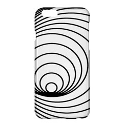 Spiral Eddy Route Symbol Bent Apple Iphone 6 Plus/6s Plus Hardshell Case