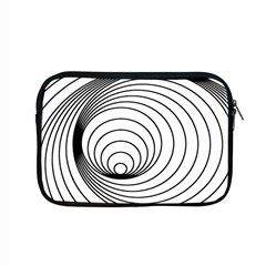 Spiral Eddy Route Symbol Bent Apple Macbook Pro 15  Zipper Case