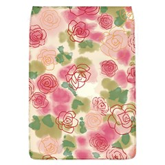 Aquarelle Pink Flower  Flap Covers (l)  by Brittlevirginclothing