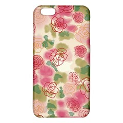 Aquarelle  Pink Flower  Iphone 6 Plus/6s Plus Tpu Case by Brittlevirginclothing