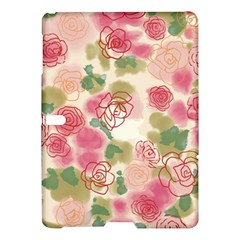 Aquarelle Pink Roses Samsung Galaxy Tab S (10 5 ) Hardshell Case  by Brittlevirginclothing