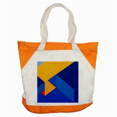 Box Yellow Blue Red Accent Tote Bag