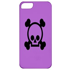 Cartoonskull Danger Apple Iphone 5 Classic Hardshell Case