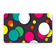 Color Balls Magnet (rectangular)