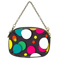 Color Balls Chain Purses (one Side)  by Jojostore