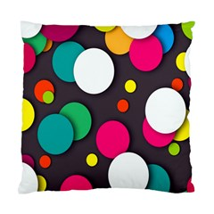 Color Balls Standard Cushion Case (one Side)