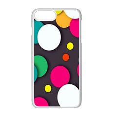Color Balls Apple Iphone 7 Plus White Seamless Case by Jojostore